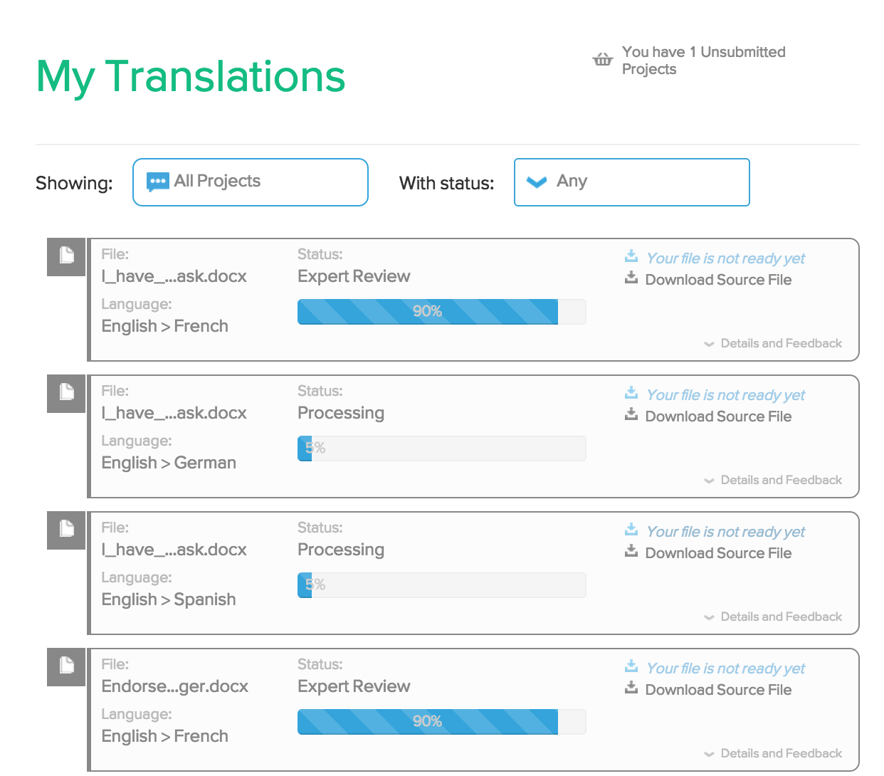 Verbalizeit Demo - See Exactly Where Your Translations Are