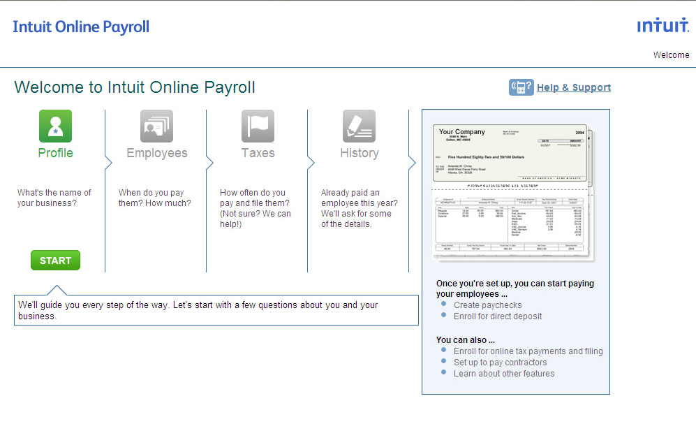 Intuit Payroll Demo - Intuit