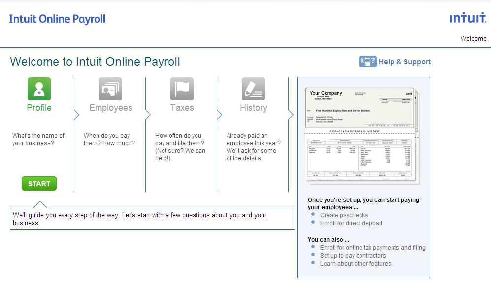 Intuit Payroll Demo - Intuit