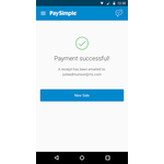 PaySimple Mobile Apps Screenshot