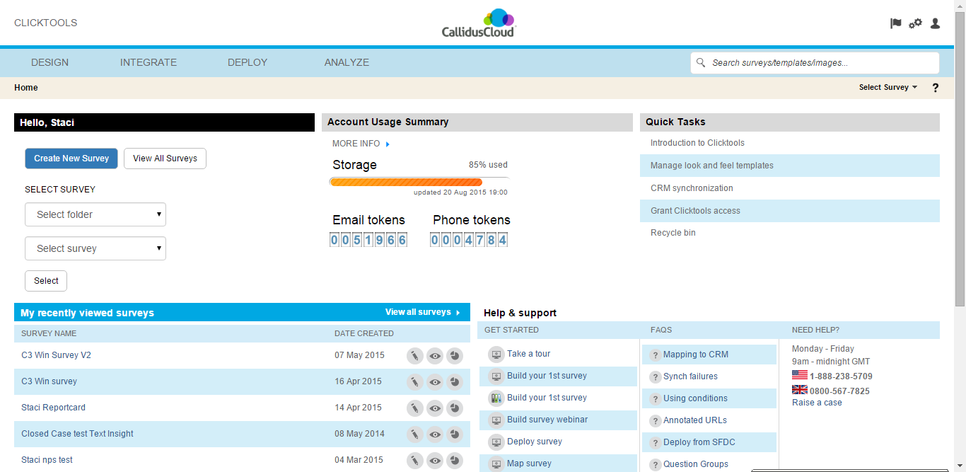 CallidusCloud Clicktools Demo - Clicktools: Own the Outcome
