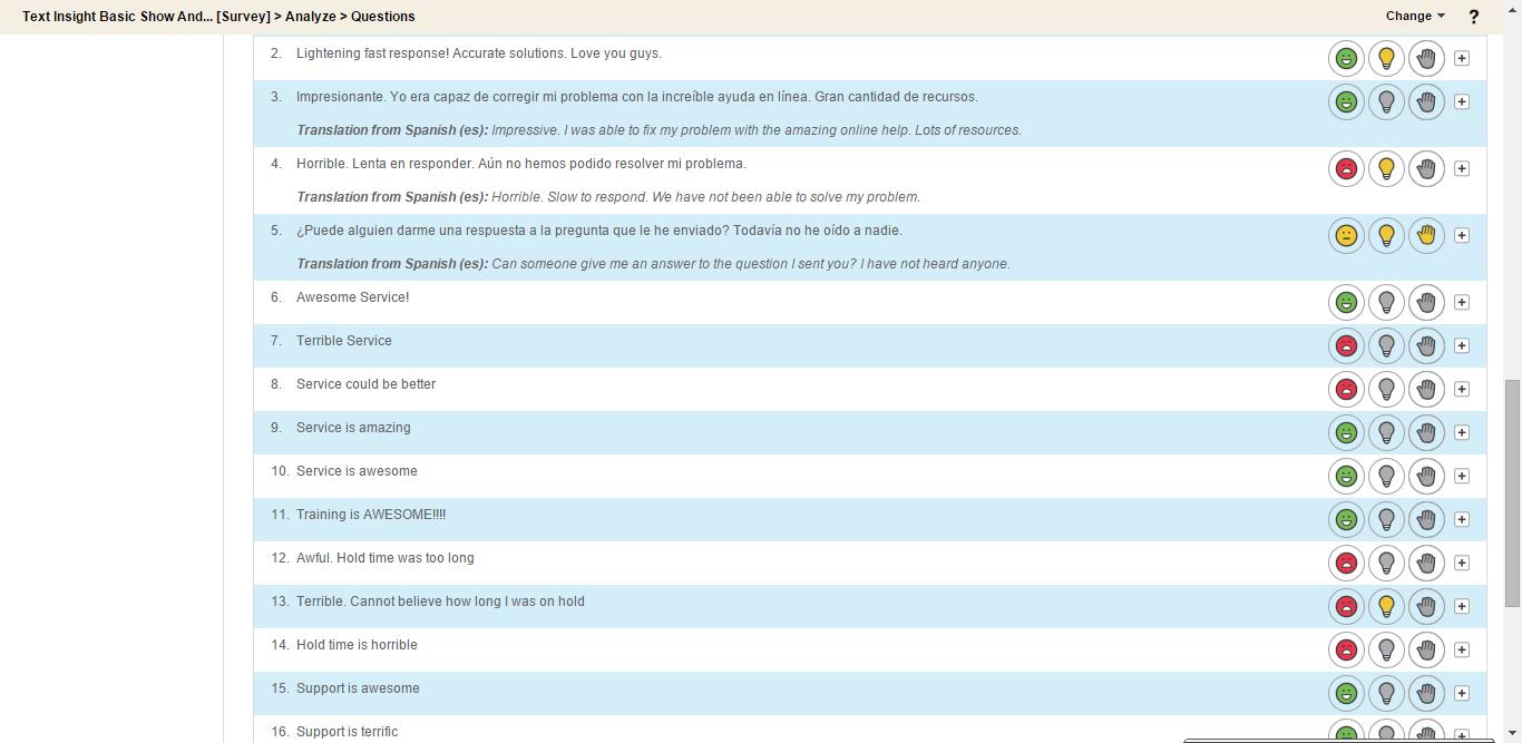 CallidusCloud Clicktools Demo - Make sense of freeform feedback