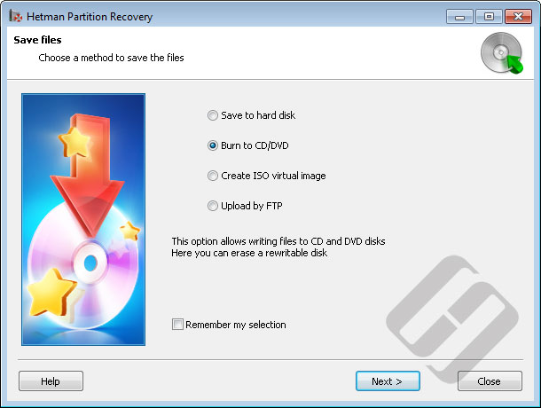Hetman Partition Recovery Demo - File Saving