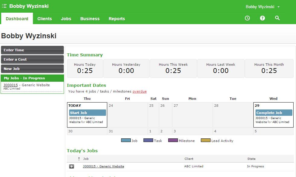 WorkflowMax Demo - WorkflowMax