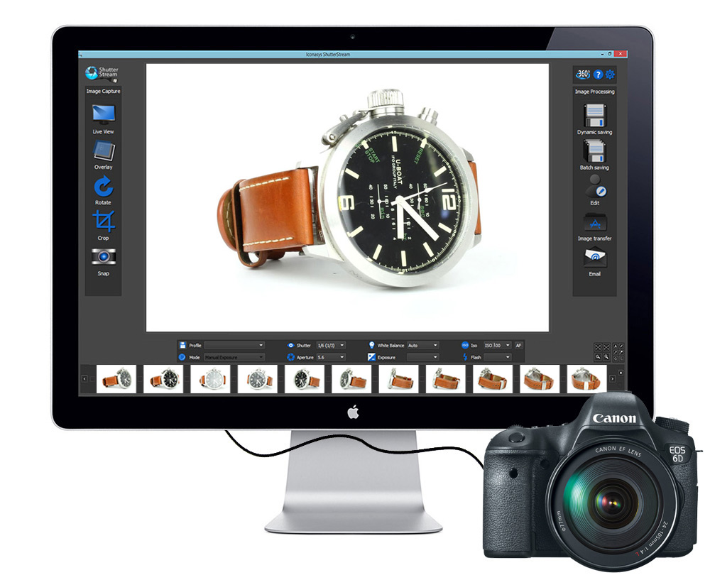 Shutter Stream Demo - Shutter Stream 360 Product Photography Software