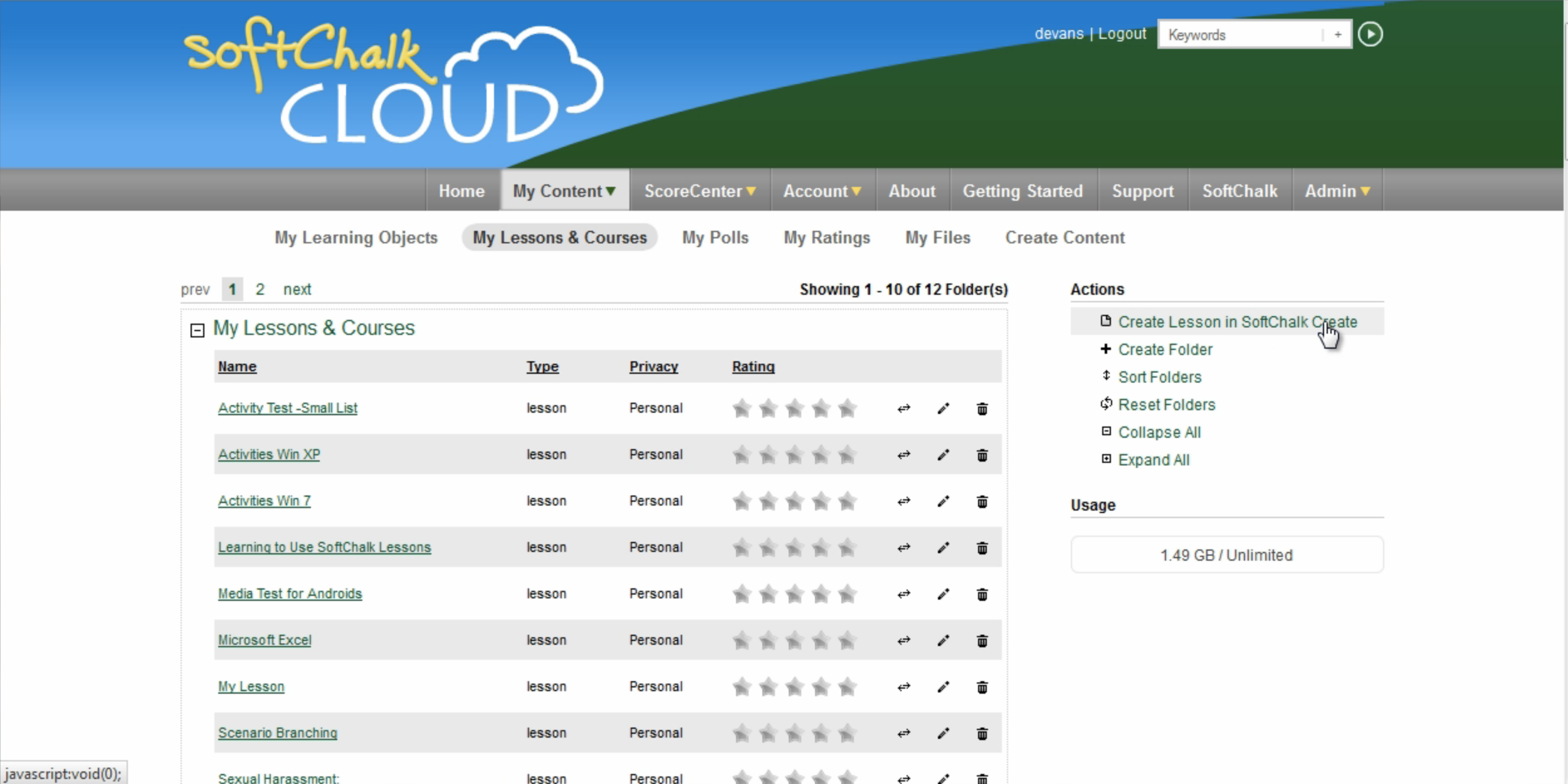 SoftChalk Cloud Demo - SoftChalk