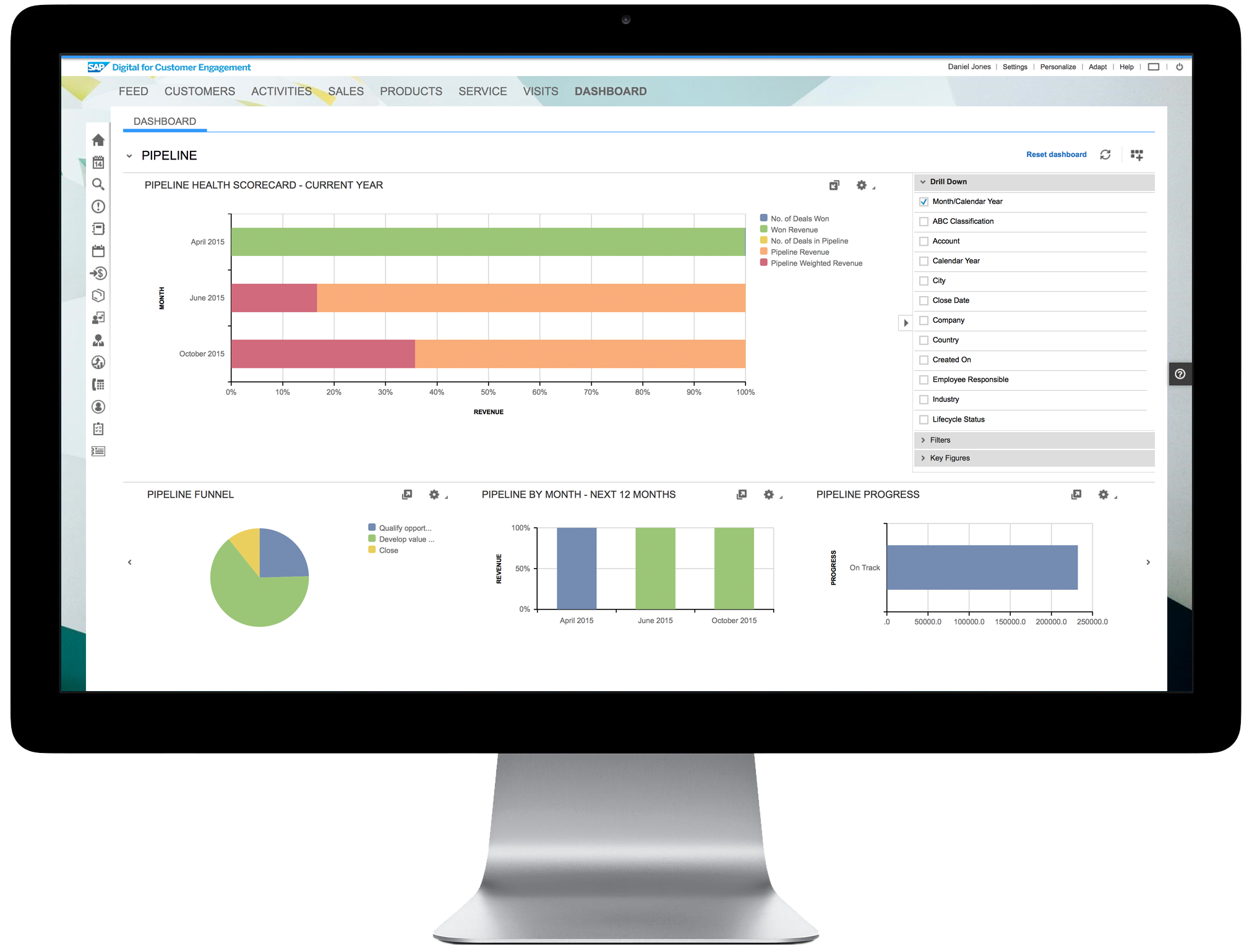 SAP Digital CRM Demo - For your desktop