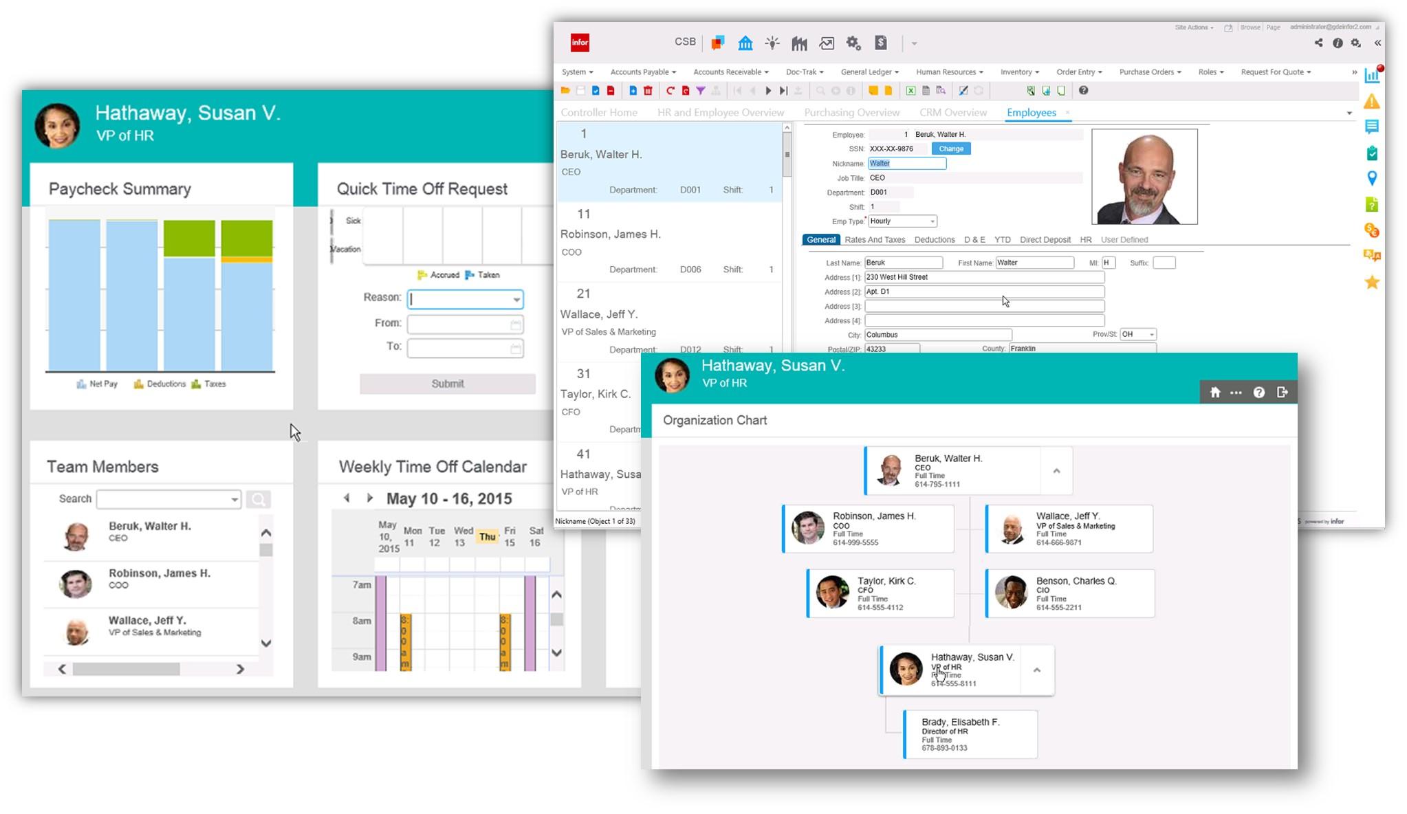 Infor CloudSuite Business Demo - CloudSuite Business Screen Shot 4