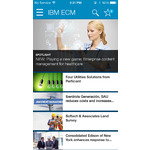 IBM FileNet Content Manager Mobile Apps Screenshot