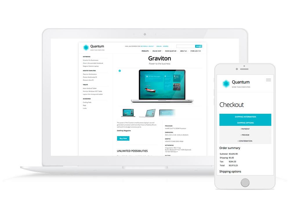 Sitefinity Demo - Digital Commerce