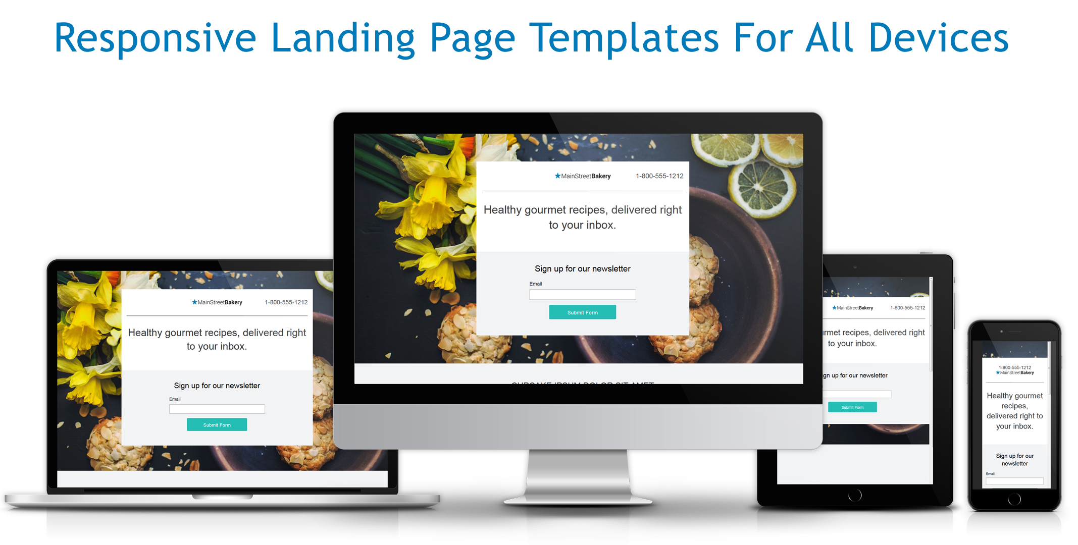 WordStream Demo - Responsive Landing Pages & Lead Capture