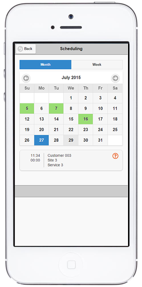 eTime Xpress Demo - Schedule on Web Xpress for Mobile App