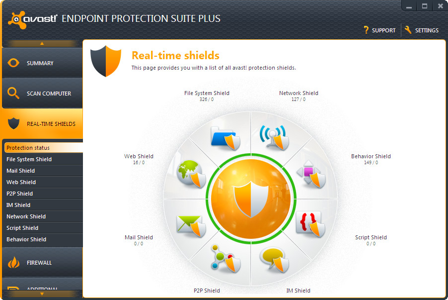 Avast Endpoint Protection Demo - Avast