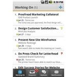Workfront Mobile Apps Screenshot