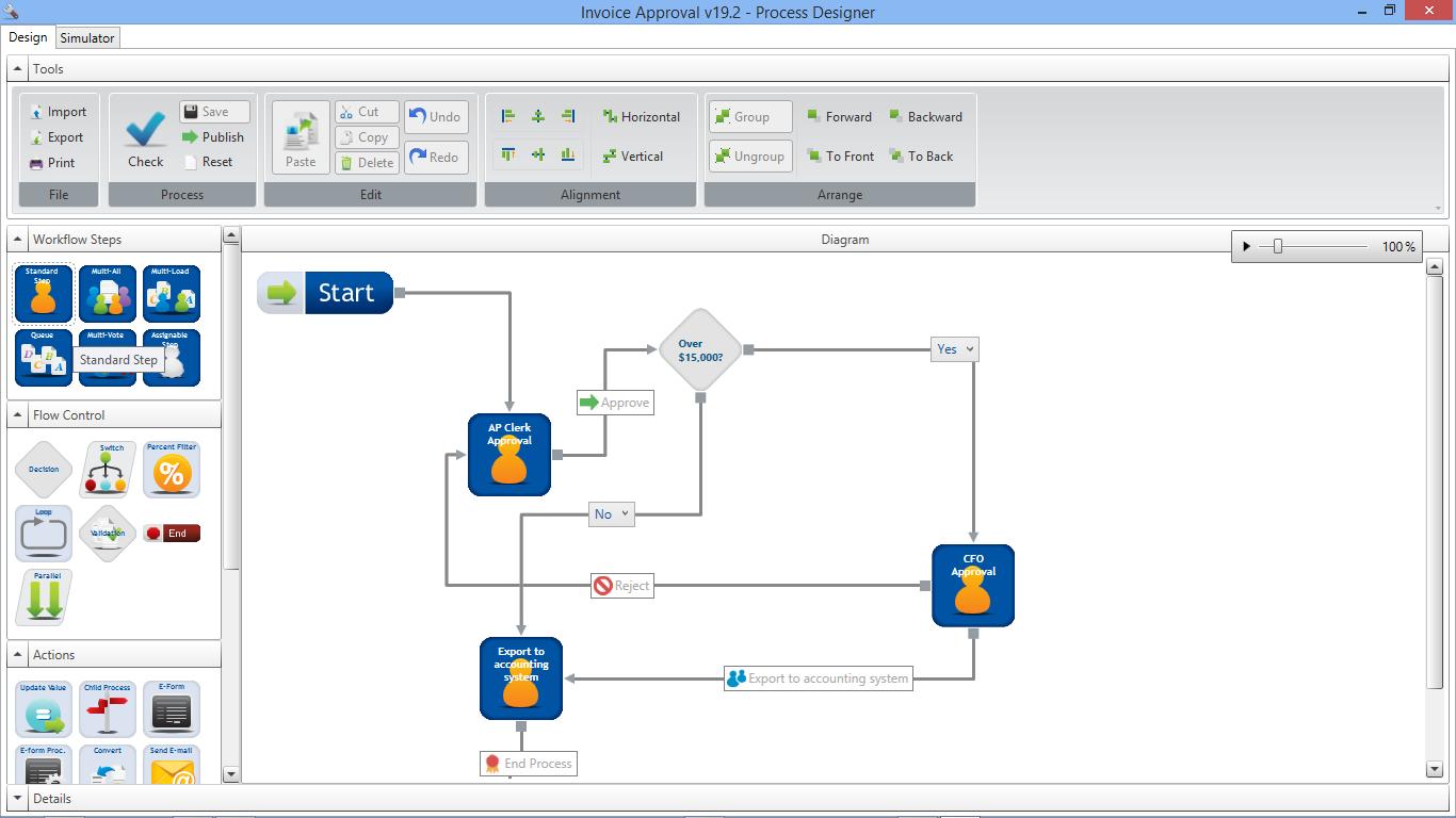 WebDocs Demo - WebDocs Workflow