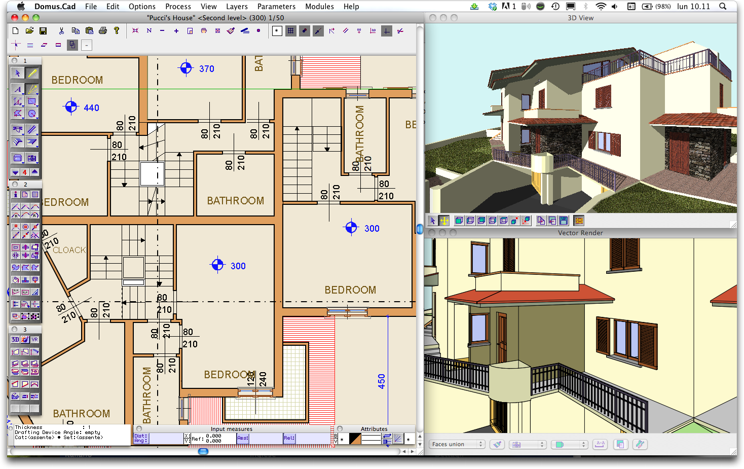Domus cad pro g2 crowd 3d architecture software