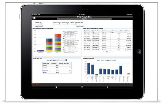 Oracle Sales Analytics Demo - Oracle Sales Analytics_screenshot3