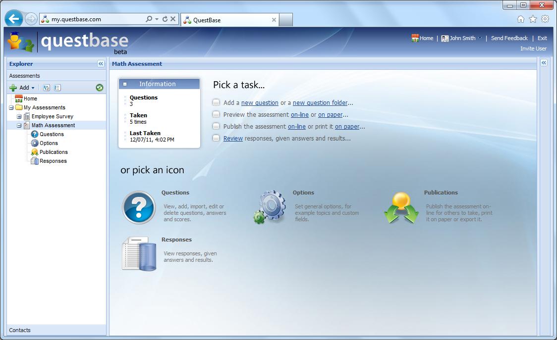 QuestBase Demo - QuestBase_screenshot2