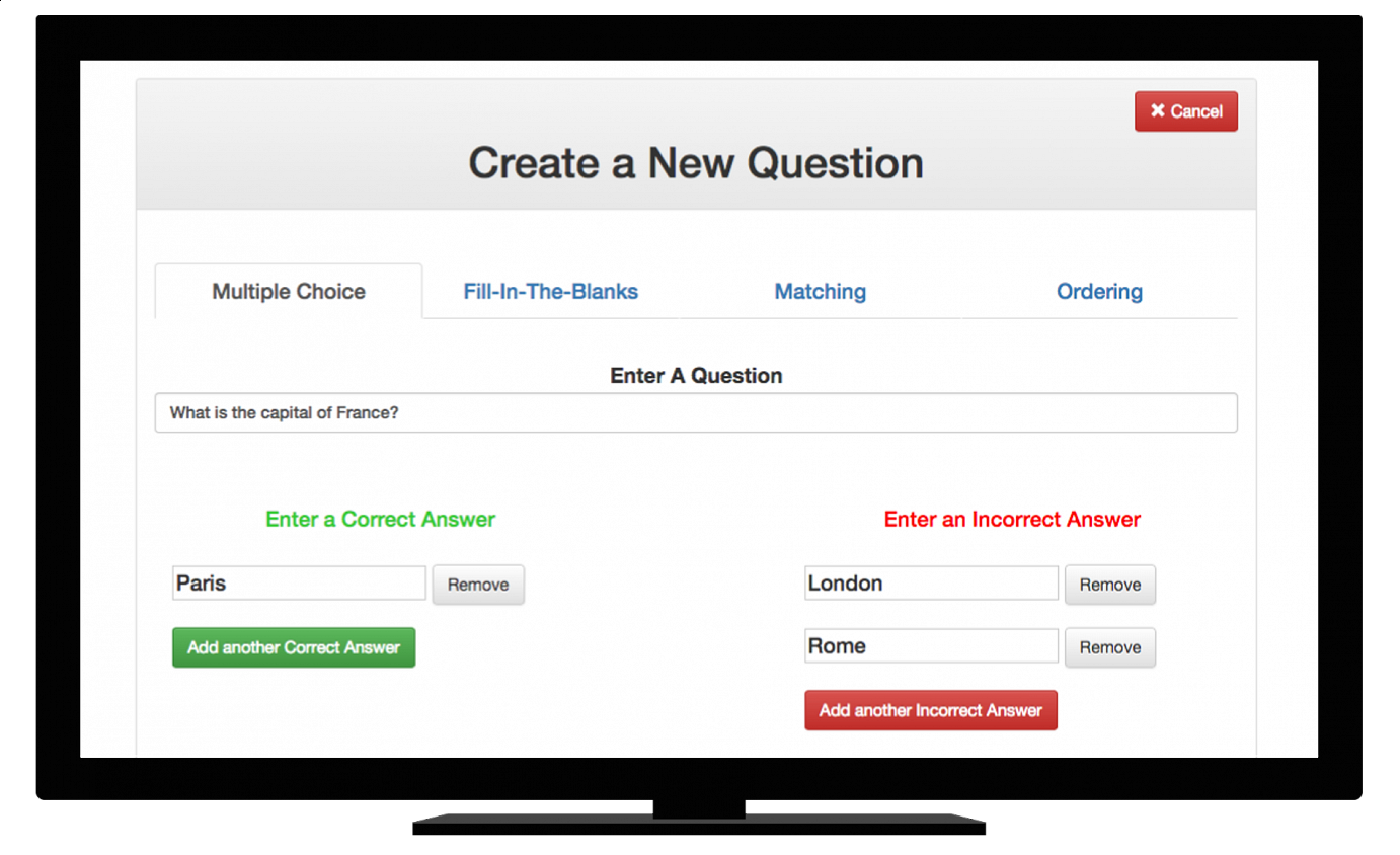 Revision Quiz Maker Demo - Revision Quiz Maker_screenshot2