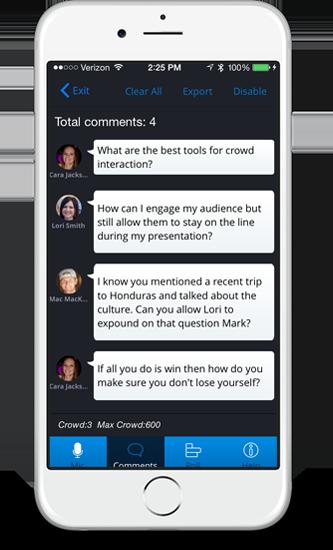 Crowd Mics Demo - Crowd Mics_screenshot3