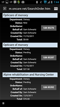 Oncare Demo - OncarePurchasingSoftware_Screenshot2