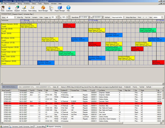 QuickService Demo - QuickService_Screenshot-2