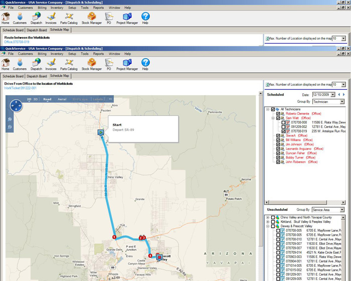 QuickService Demo - QuickService_Screenshot-3