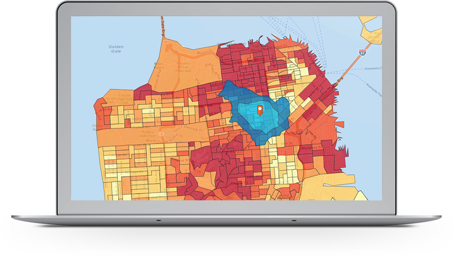 Esri ArcGIS Demo - Find the best sites