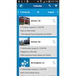 Cvent Mobile Apps Screenshot