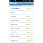 ADP RUN Mobile Apps Screenshot