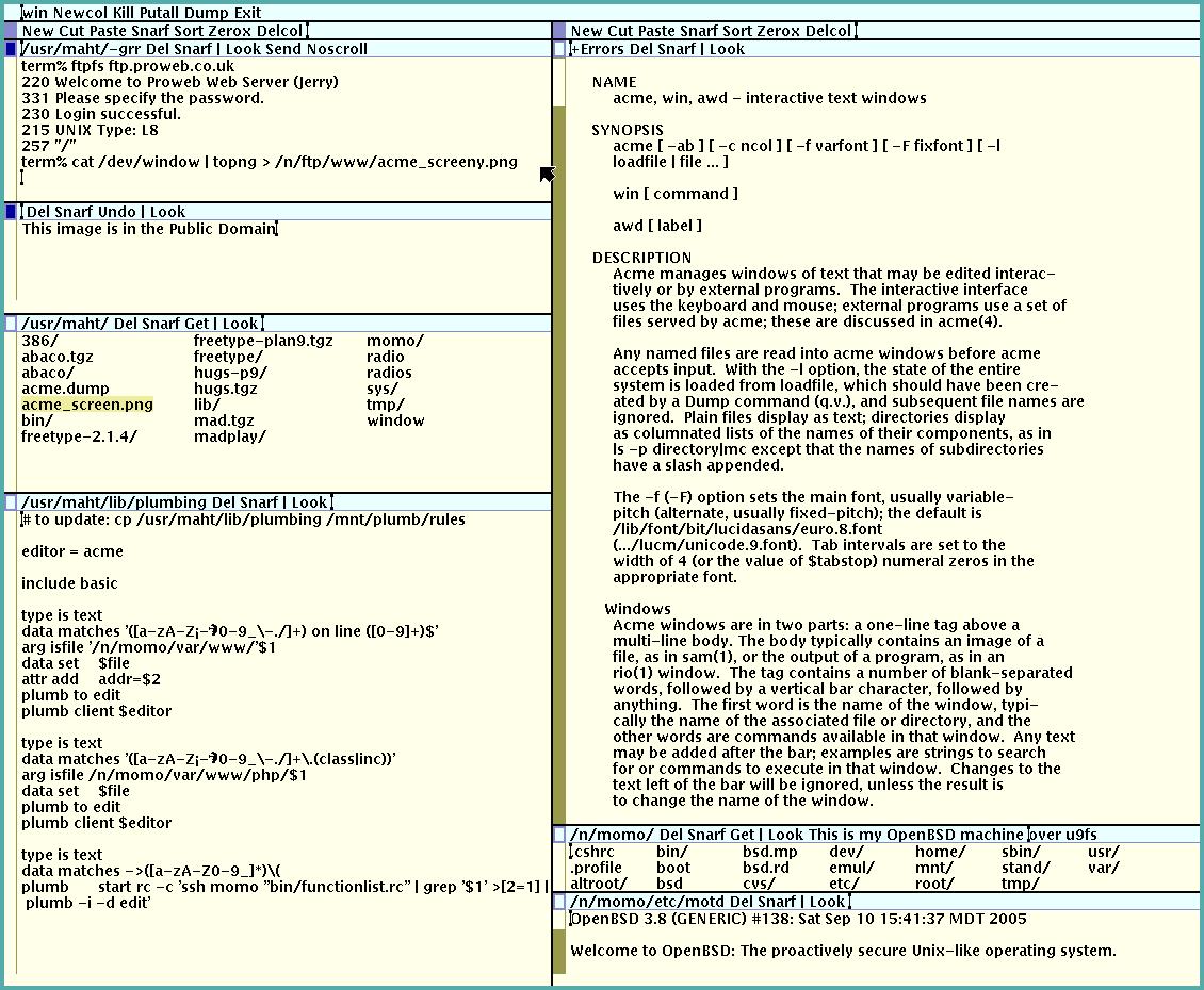 Acme Text Editor Demo - Acme Text Editor