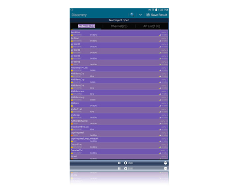 AirCheck Wi-Fi Tester for Android Demo - AirCheck Wi-Fi Tester for Android