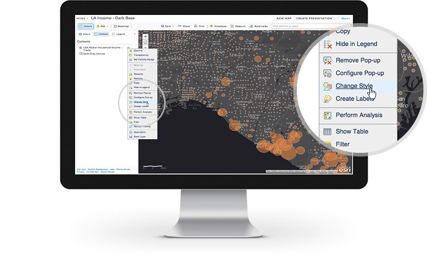 Esri ArcGIS Demo - Design intelligent maps