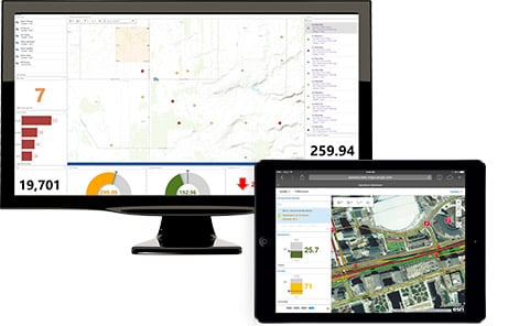 Esri ArcGIS Demo - Monitor your assets with ArcGIS