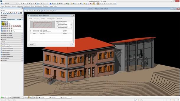 Bentley speedikon Architectural Demo - Bentley Architecture