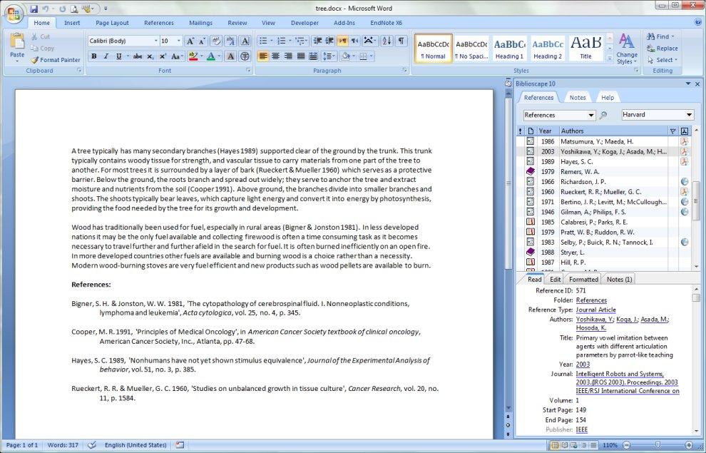 Biblioscape Demo - Biblioscape