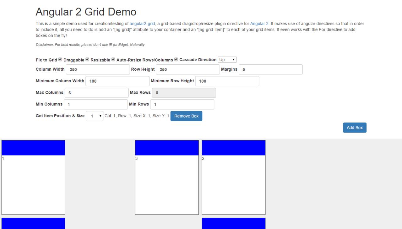 Angular.io Demo - Built with Angular 2