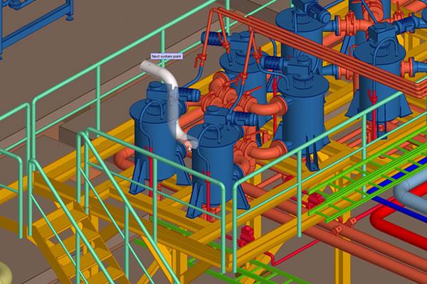 Cadmatic 3D plant design Demo - Cadmatic 3D plant design