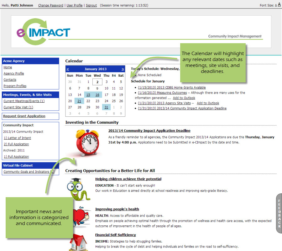 e-CImpact Demo - e-CImpact