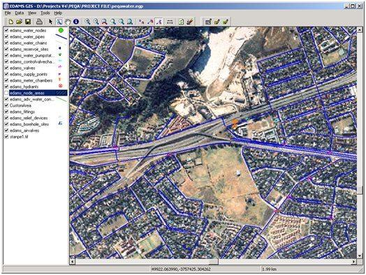 EDAMS GIS Demo - EDAMS GIS