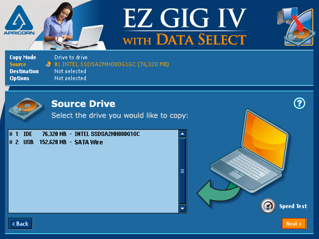 EZ Gig IV Cloning Software with Data Select Demo - EZ Gig IV Cloning Software with Data Select