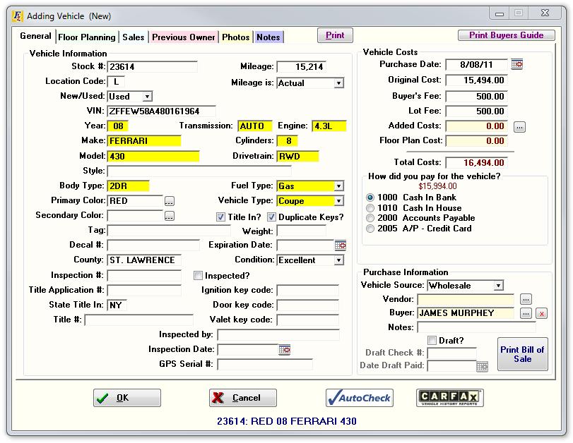 Frazer Auto Dealer Software G2 Crowd