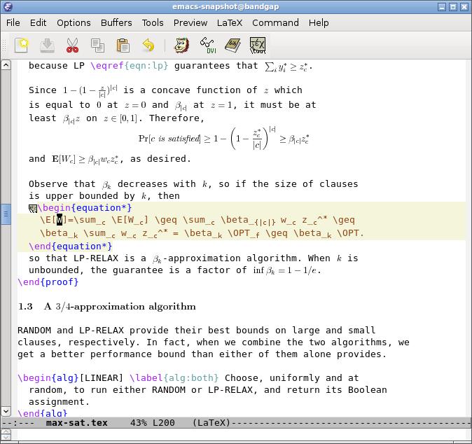 GNU Emacs Demo - GNU Emacs
