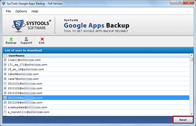 Google Apps Backup Demo - Google Apps Backup