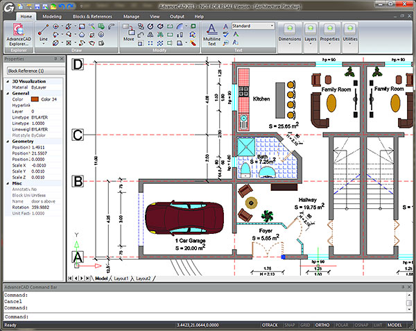 how to use a cad program