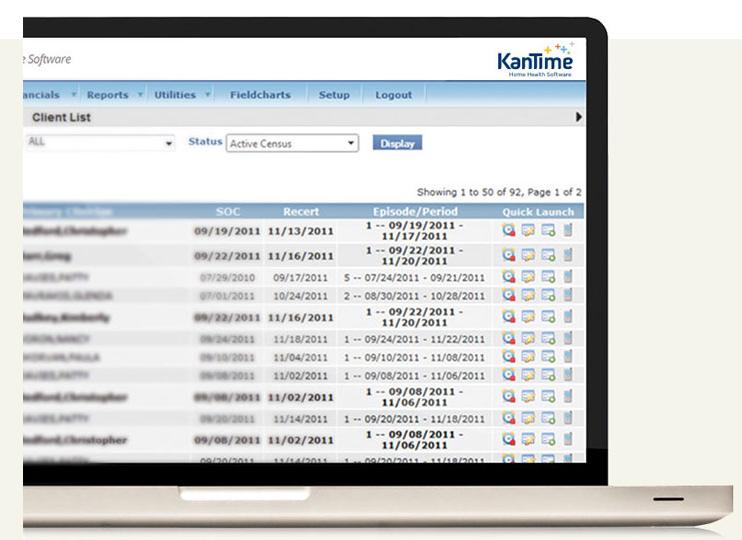 KanTime Healthcare Software Demo - KanTime Home Health