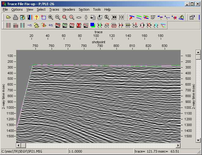 LEASSV Seismic Vectorising Demo - LEASSV Seismic Vectorising