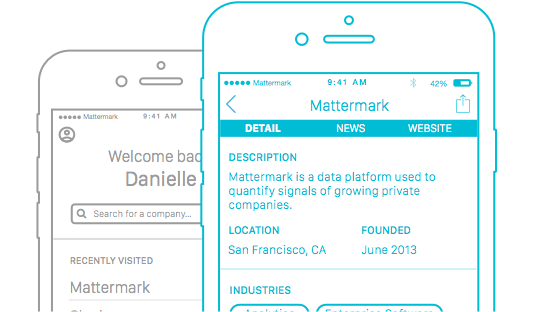 Mattermark Demo - Mattermark