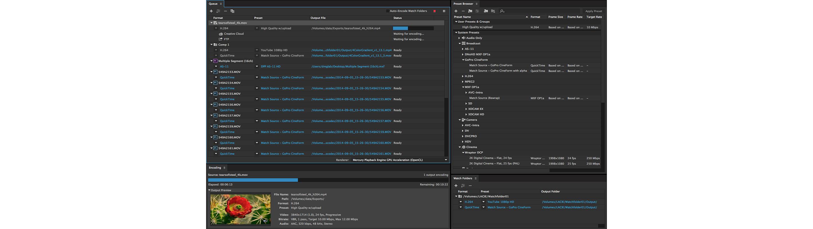 Media Encoder CC Demo - Media Encoder CC