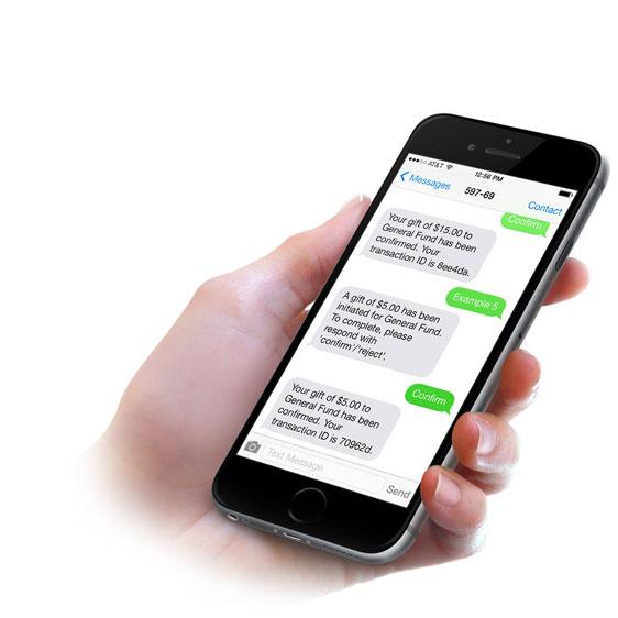 Mogiv Demo - Text Giving